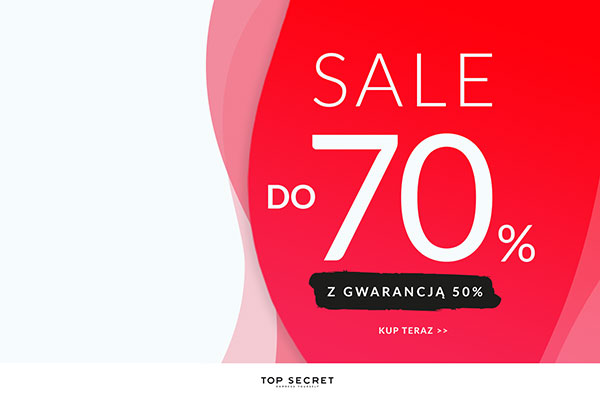 TOP SECRET - Sale do -70%